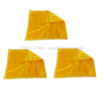 Multipurpose Magic Fibre Soft Cloth-Yellow