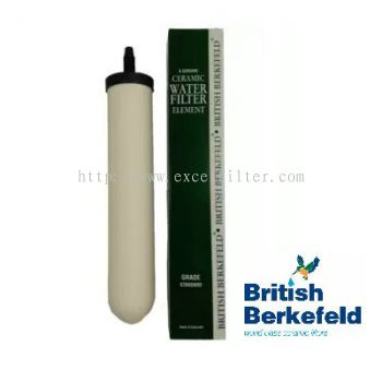 "10"" British Berkefeld Ceramic Water Filter England"