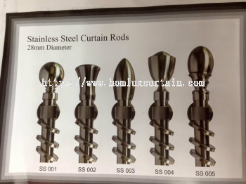 S/S ROD 28MM(DIA) STAINLESS STEEL