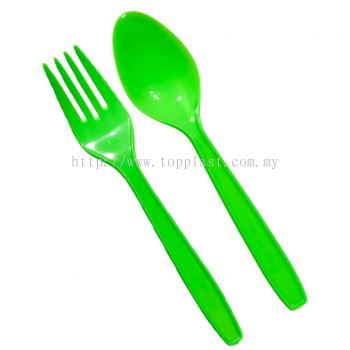 Disposable Fork Spoon (Colourful)