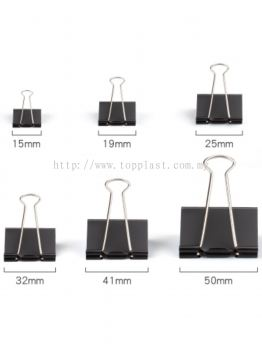 Binder Clip Black in Doz