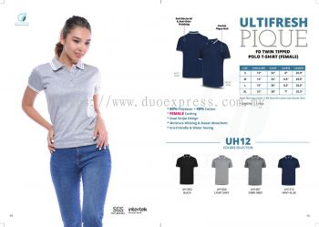 POLO COTTON TWIN TIPPED FEMALE