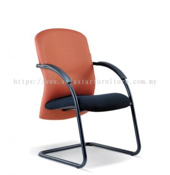 CONFI VISITOR CHAIR WITH EPOXY BLACK CANTILEVER BASE ASE 2009