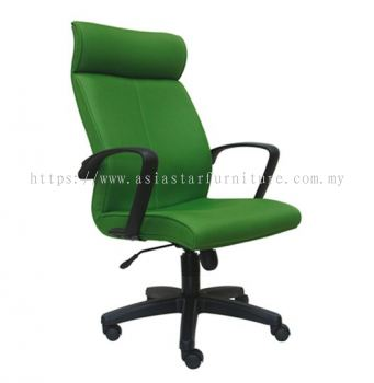 FUSION HIGH BACK CHAIR WITH POLYPROPYLENE BASE ASE181
