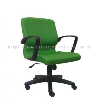 ICO LOW BACK CHAIR WITH POLYPROPYLENE BASE ASE223