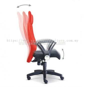 IMAGINE SPECIFICATION - EXTRA MOTION OF THE BACKREST DURING RECLINE AUTOMATICALLY ADJUSTS TO ENSURE CORRECT POSITION
