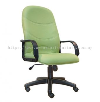 KIND HIGH BACK CHAIR WITH POLYPROPYLENE BASE ASE 8001