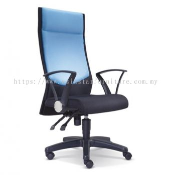 AMAXIM HIGH BACK CHAIR WITH POLYPROPYLENE BASE ASE 2581