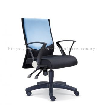 AMAXIM LOW BACK CHAIR WITH POLYPROPYLENE BASE ASE 2583
