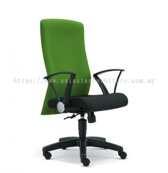 GAIN MEDIUM BACK CHAIR WITH POLYPROPYLENE BASE ASE2272