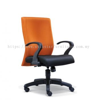 MERIT LOW BACK CHAIR WITH POLYPROPYLENE BASE ASE2053