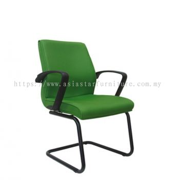 NEXUS VISITOR CHAIR WITH EPOXY BLACK CANTILEVER BASE ASE 194