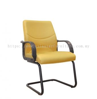 REFORM VISITOR CHAIR WITH EPOXY BLACK CANTILEVER BASE ASE 3005