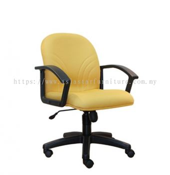 TRUST LOW BACK CHAIRWITH POLYPROPYLENE BASE  ASE 5003