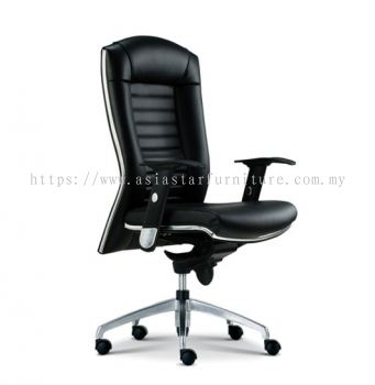 AIM DIRECTOR MEDIUM BACK CHAIR WITH CHROME TRIMMING LINE ASE 1012