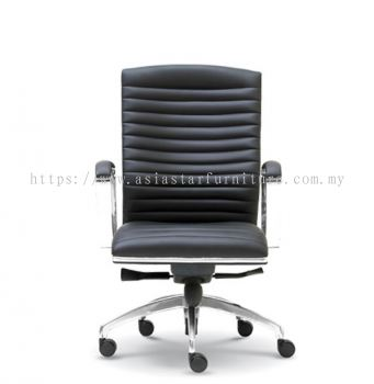 CONQUEROR DIRECTOR MEDIUM BACK CHAIR WITH CHROME TRIMMING LINE ASE 2012