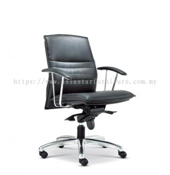FORCE DIRECTOR LOW BACK CHAIR WITH ALUMINIUM DIE-CAST BASE ASE 260