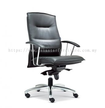 FORCE DIRECTOR MEDIUM BACK CHAIR WITH ALUMINIUM DIE-CAST BASE ASE 280