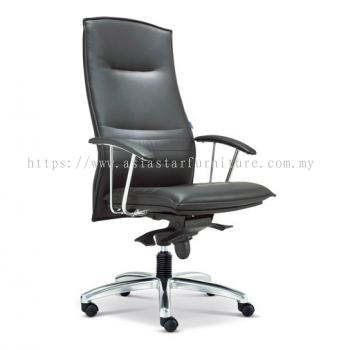 FORCE DIRECTOR HIGH BACK CHAIR WITH ALUMINIUM DIE-CAST BASE ASE 300