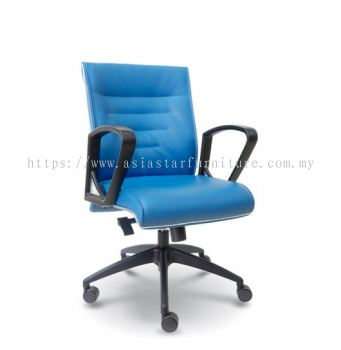CHALLENGE LOW BACK CHAIR WITH CHROME TRIMMING LINE ASE2513
