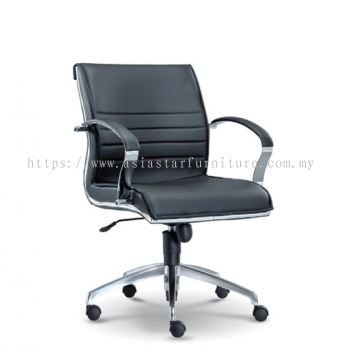 DIRECTIV LOW BACK CHAIR WITH CHROME TRIMMING LINE ASE1063