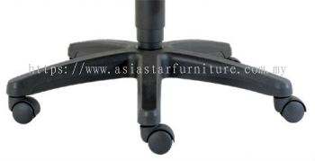 IMPROVE SPECIFICATION - THE PP NYLON BASE ENHANCE STABILITY OF THE CHAIR