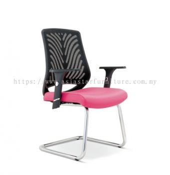 INSIST LOW BACK MESH VISITOR CHAIR ASE2626