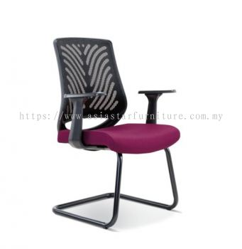INSIST LOW BACK MESH VISITOR CHAIR ASE2628