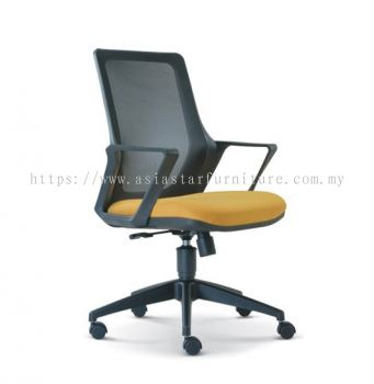 REAL MESH CHAIR WITH ROCKET NYLON BASE ASE2693
