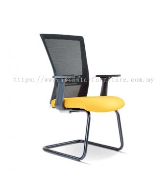 TALENT MESH VISITOR CHAIR WITH EPOXY BASE ASE2657