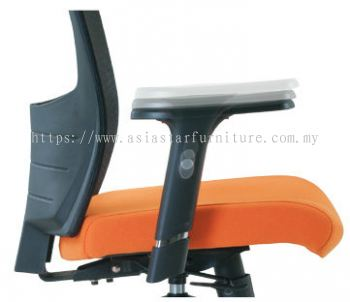 VICTORY SPECIFICATION - THE HEIGHT OF THE ARMREST IS ADJUSTABLE IN 5 INTERVAL