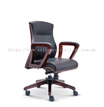BRAVO WOODEN LOW BACK CHAIR ASE2353