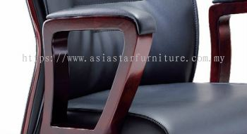 CHARACTER SPECIFICATION - LOOP TYPE WOODEN ARMREST WITH PADDLE ENSURING ARM SUPPPORT COMFORT