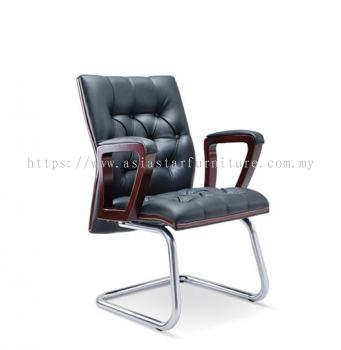 DUTY WOODEN VISITOR BACK CHAIR ASE2324