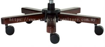 FORTUNE SPECIFICATION - THE WOODEN BASE ENHANCE STABILITY OF THE CHAIR