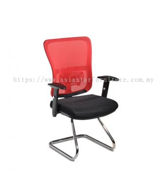 SKOGEN VISITOR MESH CHAIR WITH CHROME BASE SG-C3