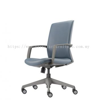 FITS EXECUTIVE MEDIUM BACK CHAIR WITH ROCKET NYLON GREY AFTL7111