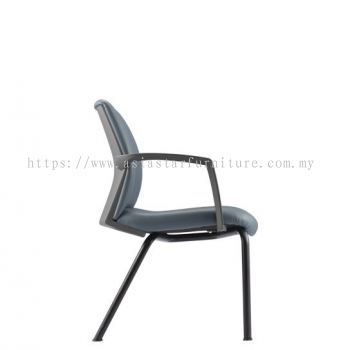 FITS EXECUTIVE VISITOR BACK CHAIR WITH 4 LEGGED METAL BASE AFTL7114