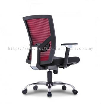 AERO MESH MEDIUM BACH CHAIR WITH ADJUSTABLE HANDLE 2MB