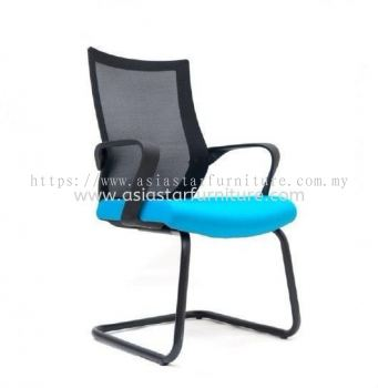 OWER VISITOR MESH CHAIR WITH EPOXY BASE ASE 2827