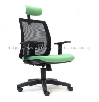 RIPON HIGH BACK MESH CHAIR WITH PP BASE ASE 2785