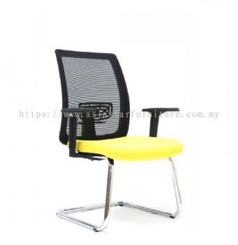 RIPON VISITOR MESH CHAIR WITH CHROME CANTILEVER BASE ASE 2783