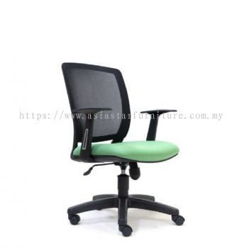 UMAX LOW BACK MESH CHAIR  WITH PP BASE ASE 2774