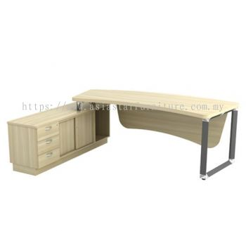 Q-OXL 2463 DIRECTOR TABLE SET (Table Top 41THK)