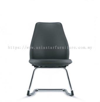 EVE VISITOR CHAIR WITH CHROME CANTILEVER BASE  ASEV 6413L-92C