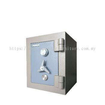 SUPER HOME SAFE AS1520 SIDE VIEW BLUE GREY COLOR