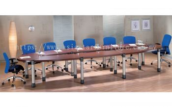 D 201 BOAT SHAPE CONFERENCE TABLE