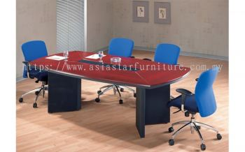 D 206 BOAT SHAPE CONFERENCE TABLE