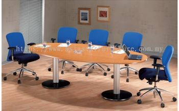 D 208 EGG SHAPE CONFERENCE TABLE