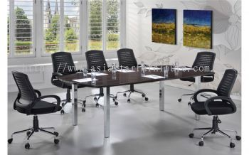 D 368 BOAT SHAPE CONFERENCE TABLE